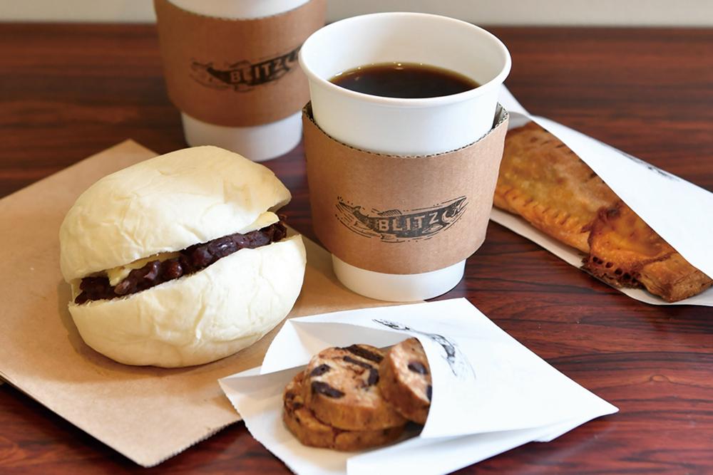 ブリッツコーヒー_パンとコーヒー