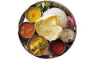 タネヲマクの南インド風やさいカレー定食