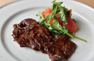 カンポドォロのステーキ
