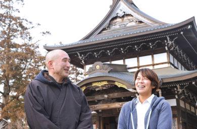 関善光寺の住職と宗休の亀山さん