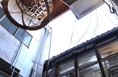柳ヶ瀬倉庫の内観