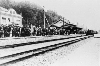 昔の下呂駅