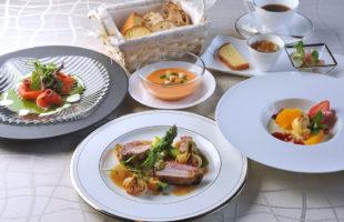 フランス料理橋本のコース料理