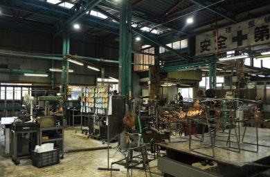 杉山製作所の工場