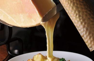 ビストロ野咲のラクレットチーズ