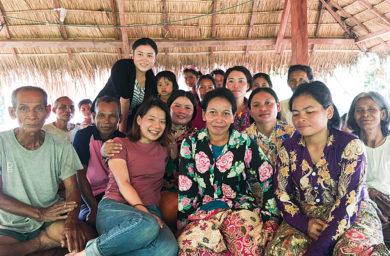 カンボジアの女性たち