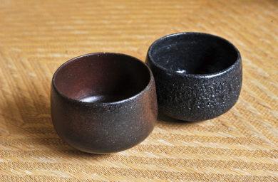 石山人の抹茶茶碗