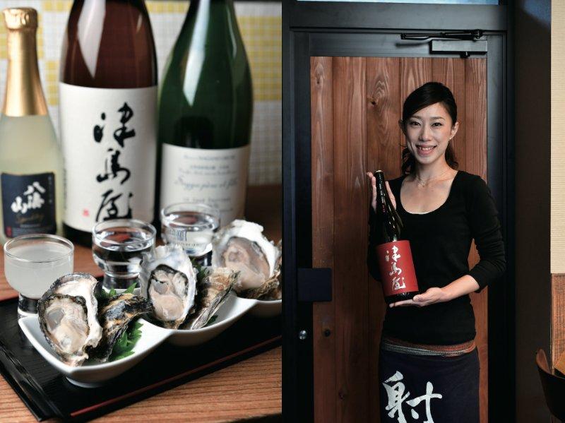 百蔵の牡蠣料理と店主