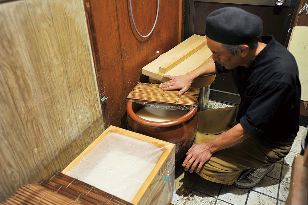 大豊軒発酵専用の部屋