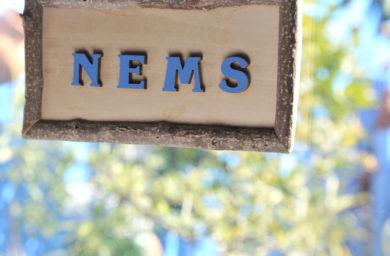 ネムズの看板