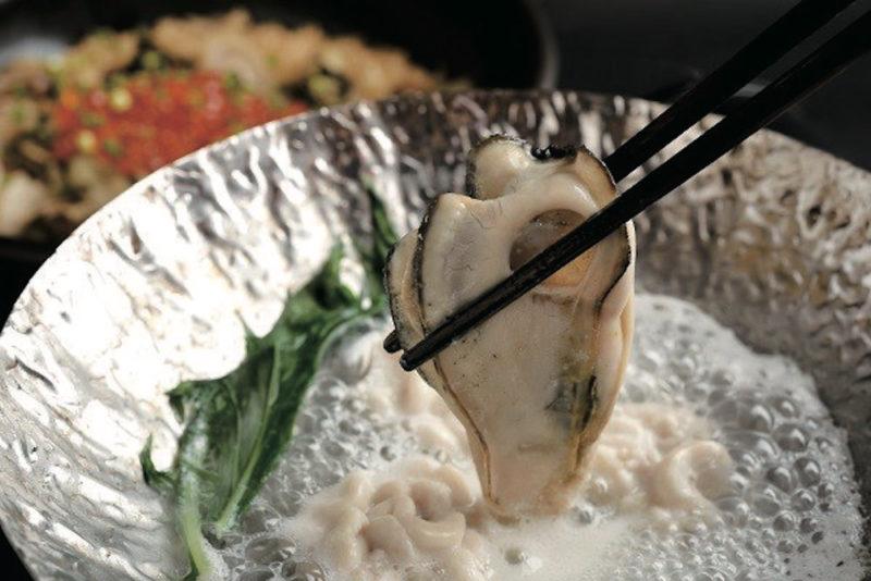 百蔵の牡蠣しゃぶ