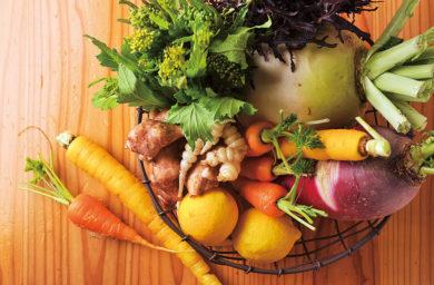 ミツバチ食堂の野菜