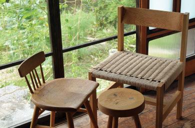 ピネル工房の椅子