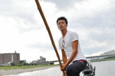 ゆいのふね川漁師の平工さん