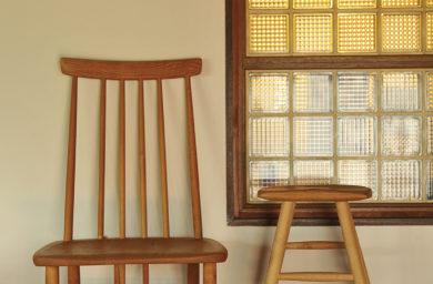 ピネル工房の椅子とスツール