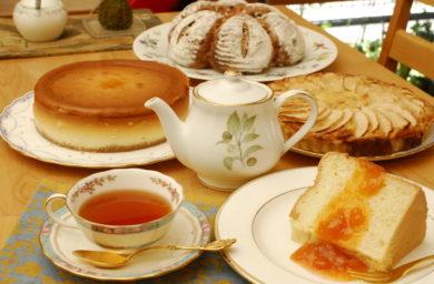くらぜんの紅茶とケーキ