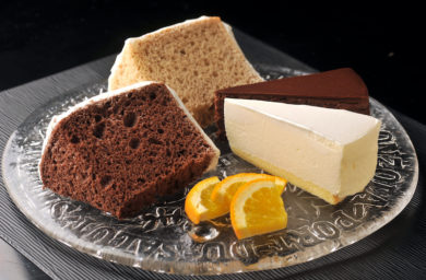 左岸_自家製ケーキ