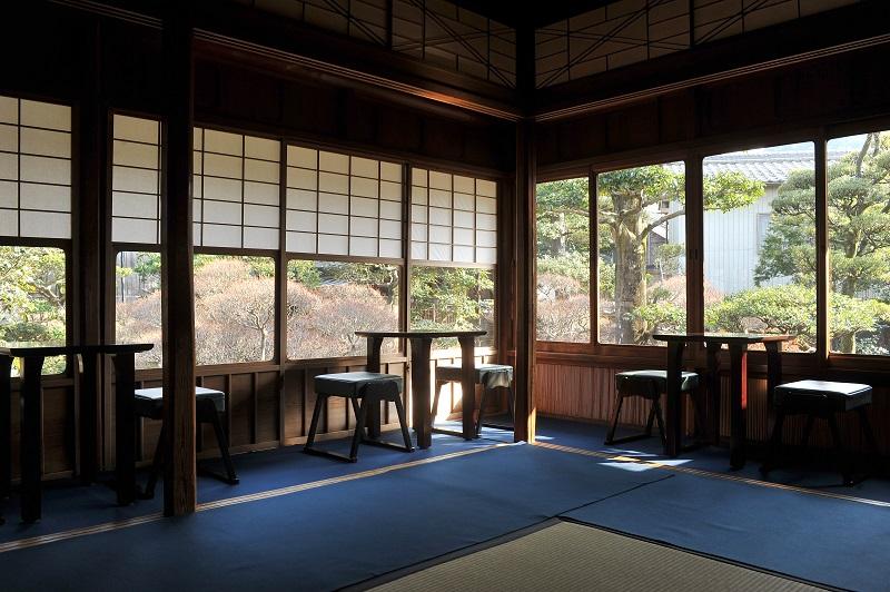 後楽荘の茶室