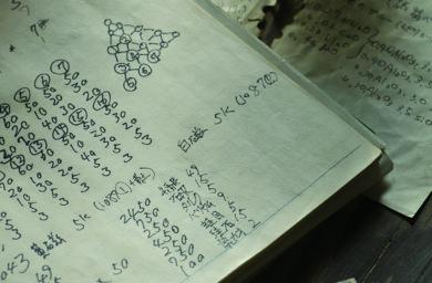 棚橋祐介さんの釉薬のノート