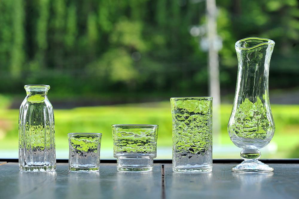 ガラス作家安土草多さんの作品