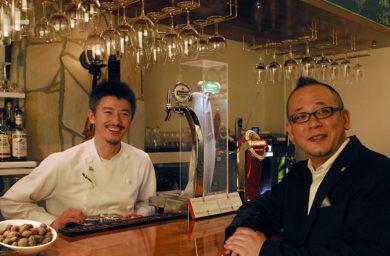 BAROSSAの料理人とバル・バロッサのバーテンダー