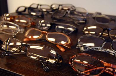 ベロオッティカのメガネ