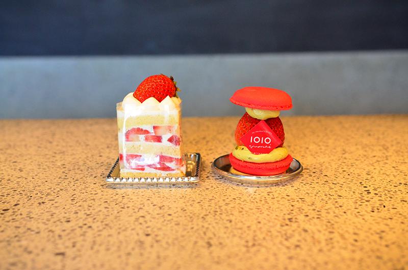 トトマルシェ ショートケーキとトトカロン