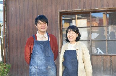 ふくべ窯の劔さん夫妻
