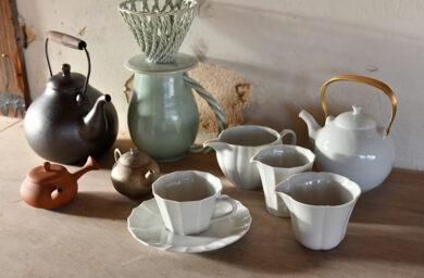 村上雄一さんの茶器