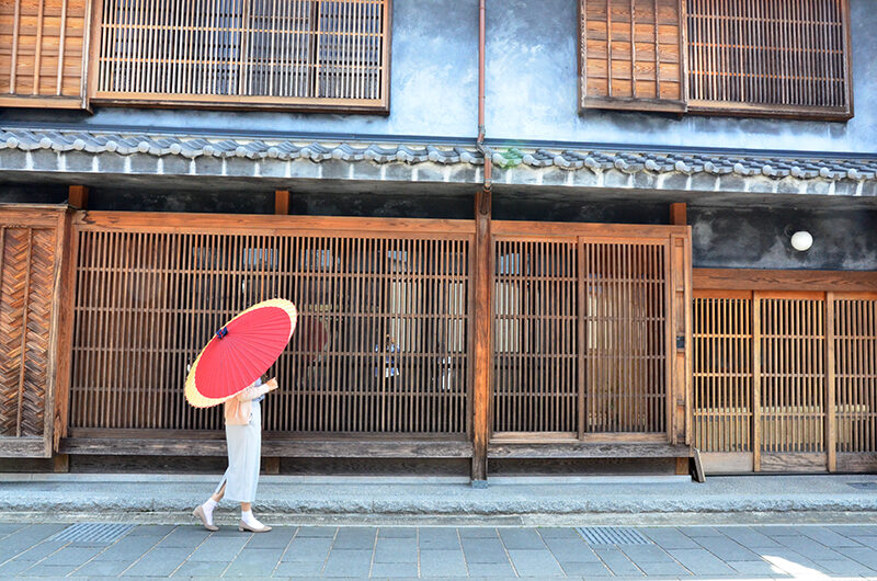 和傘のレンタル