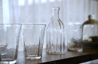 高山市の吹きガラス作家・安土草多さんの作品